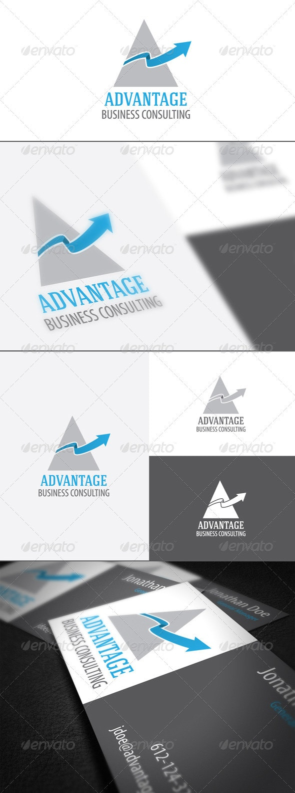 Advantage - Abstract Logo Templates
