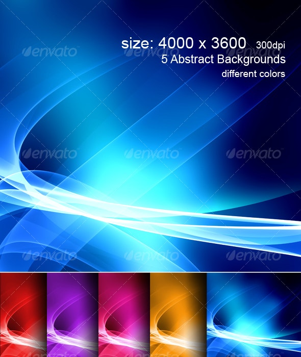 Hi-Res Colorful Background - Backgrounds Graphics