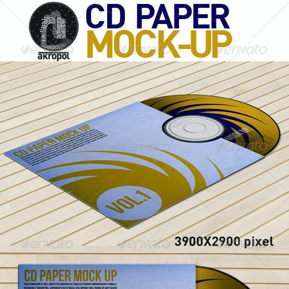 CD Paper Mock Up