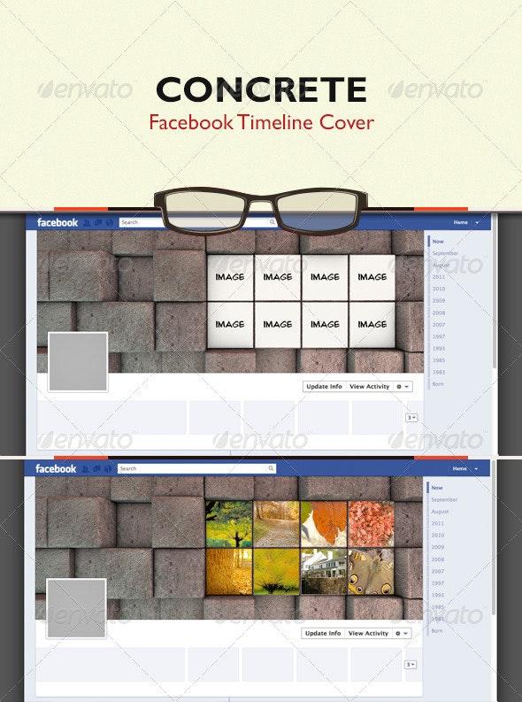 Concrete - FB Timeline Cover - Facebook Timeline Covers Social Media