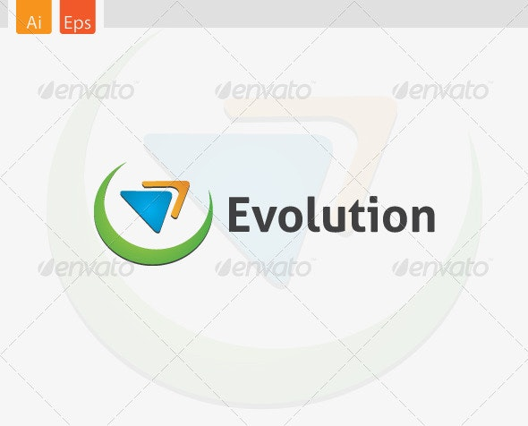 Evolution Logo Template - Symbols Logo Templates