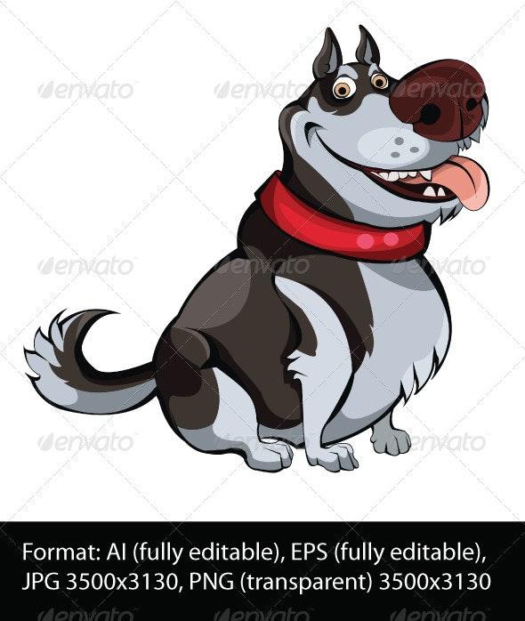 Northern Husky - Animals Characters