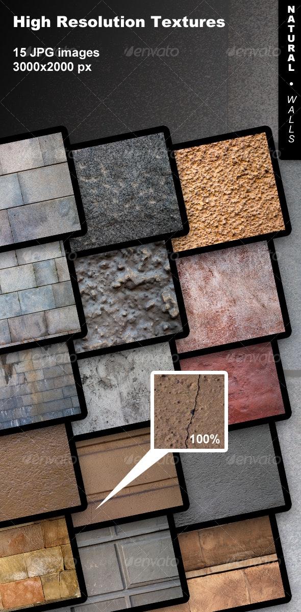 15 Natural Walls - Miscellaneous Textures