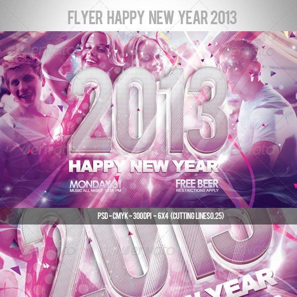 Flyer Happy New Year 2013