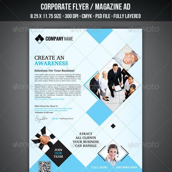 Corporate Flyer / Magazine AD