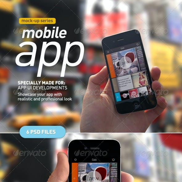 Device Holding | Mobile App UI Mock Up