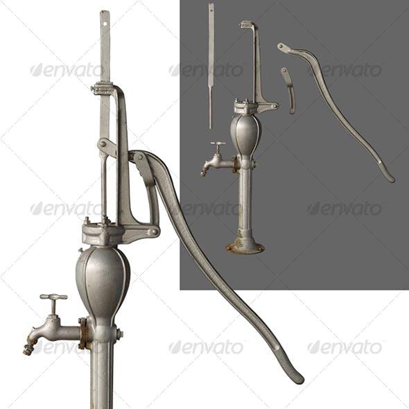 Manual-Control Water Pump