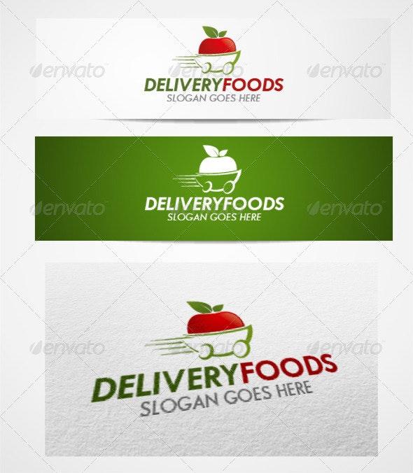 Logo Deliveryfoods Templates - Food Logo Templates