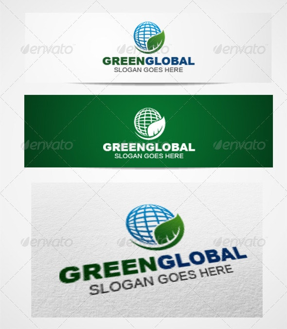 Logo GreenGlobal Templates - Symbols Logo Templates
