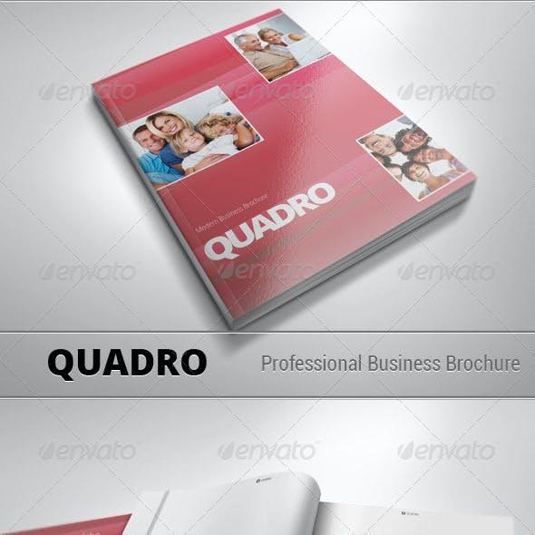 QUADRO — Modern Business Brochure