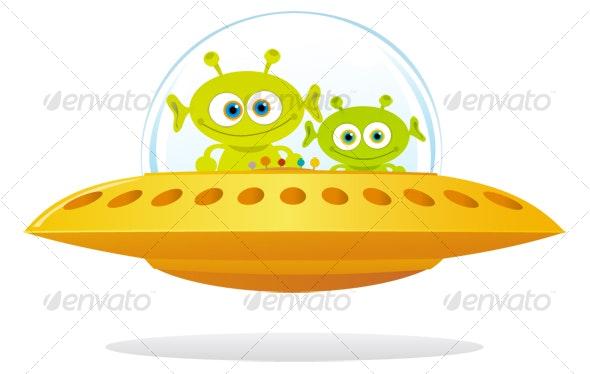 UFO - Characters Illustrations