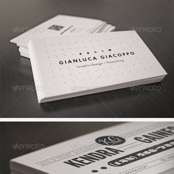 Flyer and Business Card Clean Realistic Mockups 1