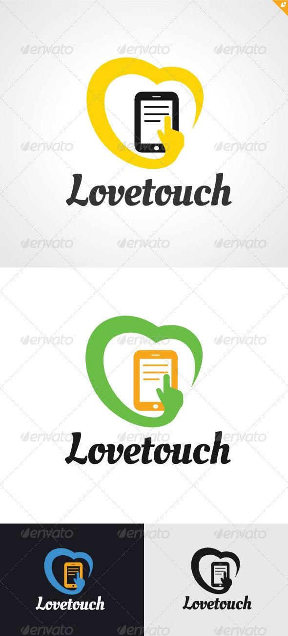 Love Touch Logo - Humans Logo Templates