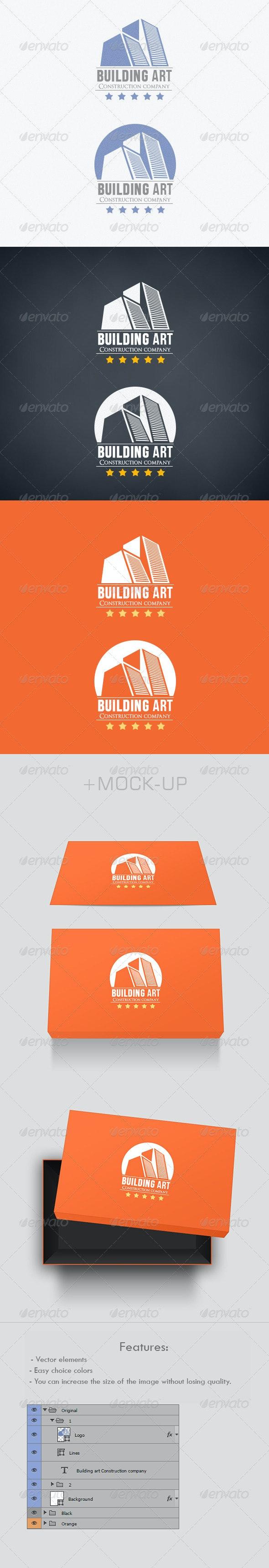 Building Art Logo - Buildings Logo Templates