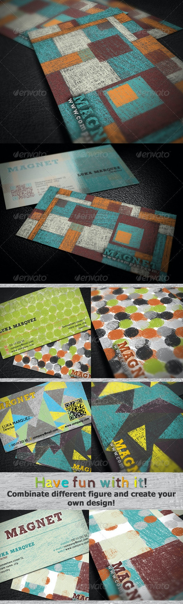 Magnet Business Card - Creative Business Cards