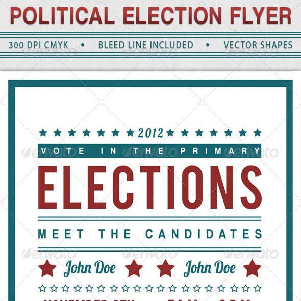 Election Stationery And Design Templates From Graphicriver