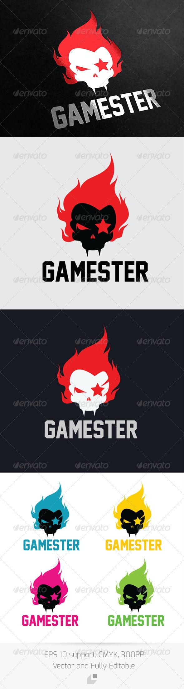 Gamester Logo - Humans Logo Templates