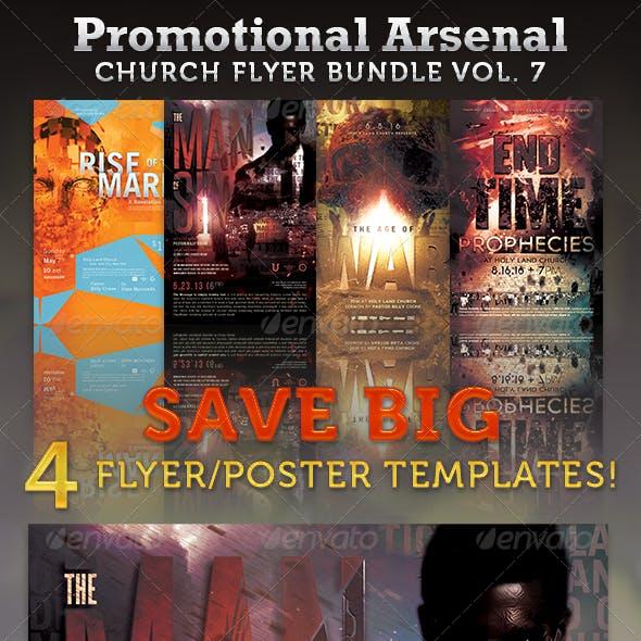 Promotional Arsenal Church Flyer Bundle 7