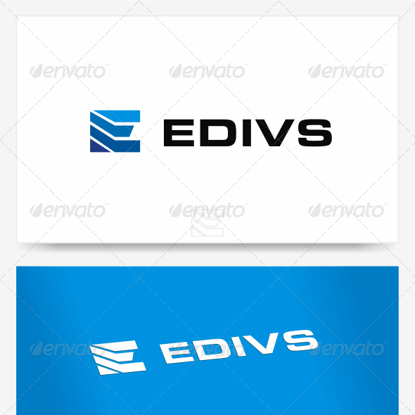 E Logo Template