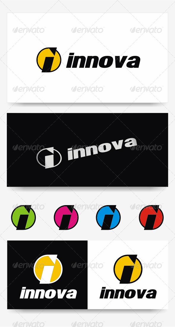 Letter I Logo Template - Letters Logo Templates
