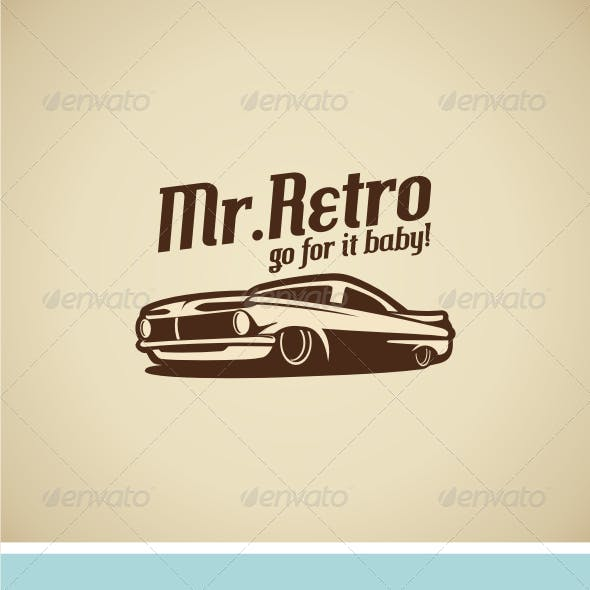 Retro Car V.1 Logo Template
