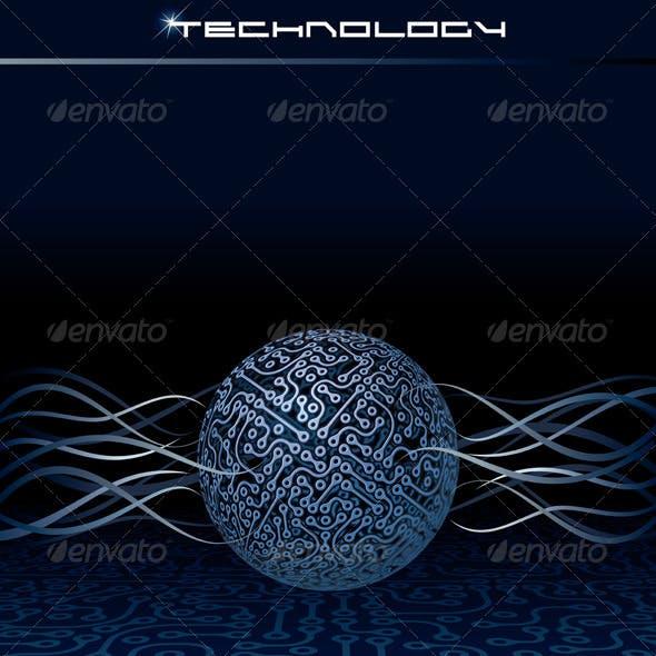 Vector Technology Concept