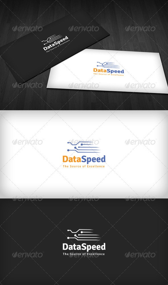 Data Speed Logo - Symbols Logo Templates