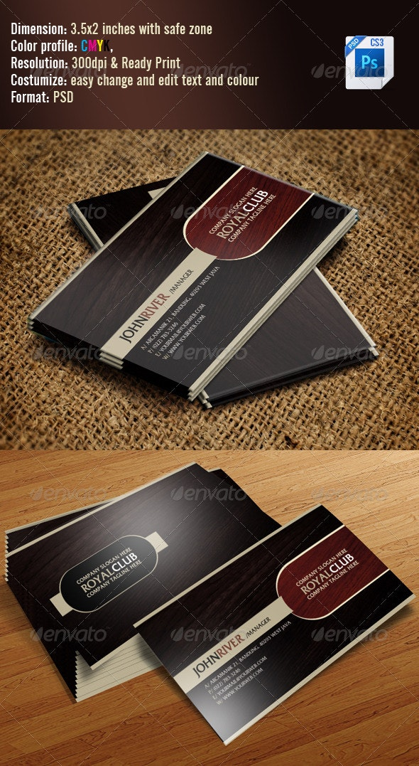 Simple Classic Business Card - Creative Business Cards