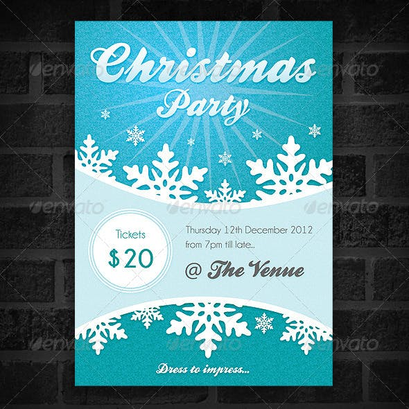 Christmas Party - Event Poster