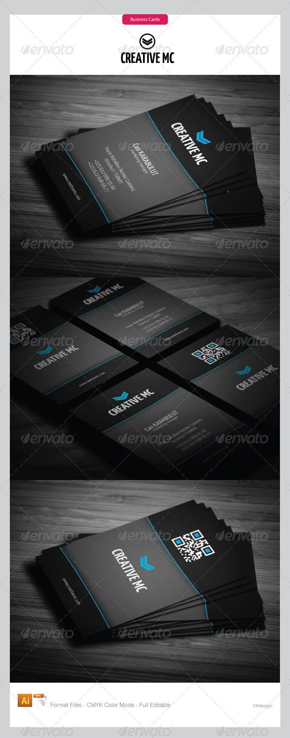 corporate business cards 151 - Business Cards Print Templates