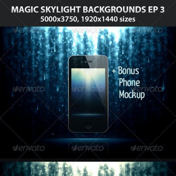 Magic Skylight Backgrounds EP 3