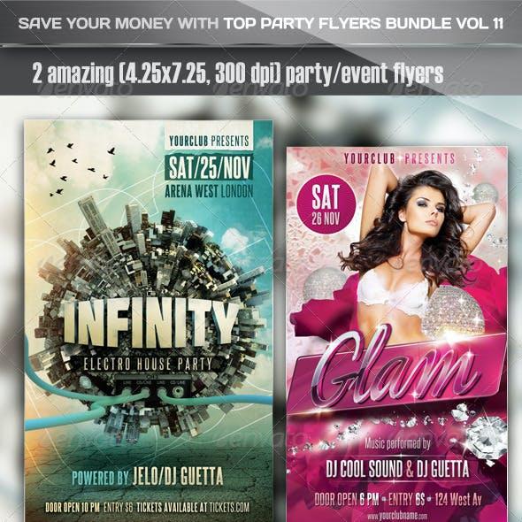 Top Party Flyer Bundle Vol11