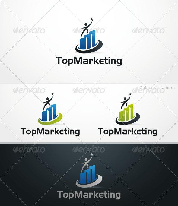 Top Marketing - Symbols Logo Templates