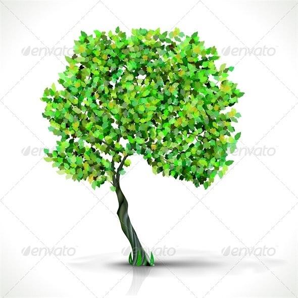 Green Tree - Organic Objects Objects