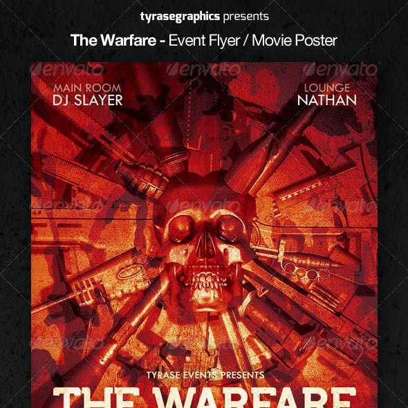 The Warfare - Event Flyer / Movie Poster