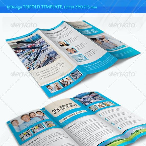 Business Trifold Brochure - v4