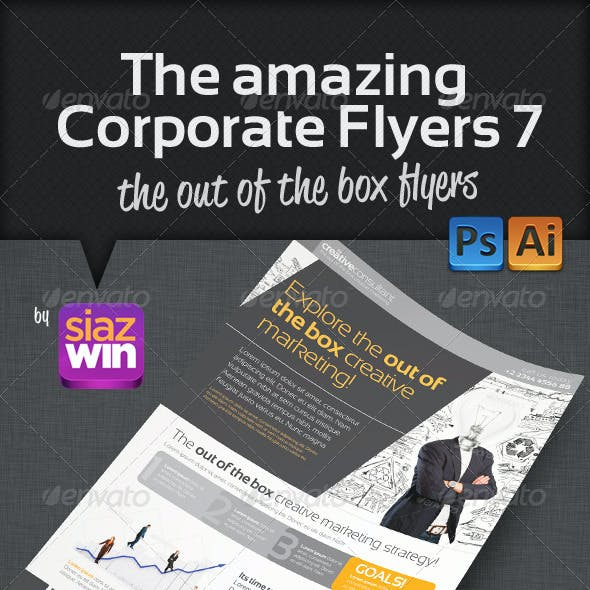 The Amazing Corporate Flyers 7