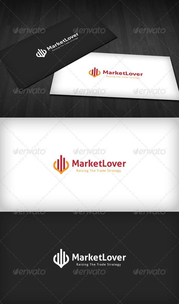 Market Lover Logo - Vector Abstract