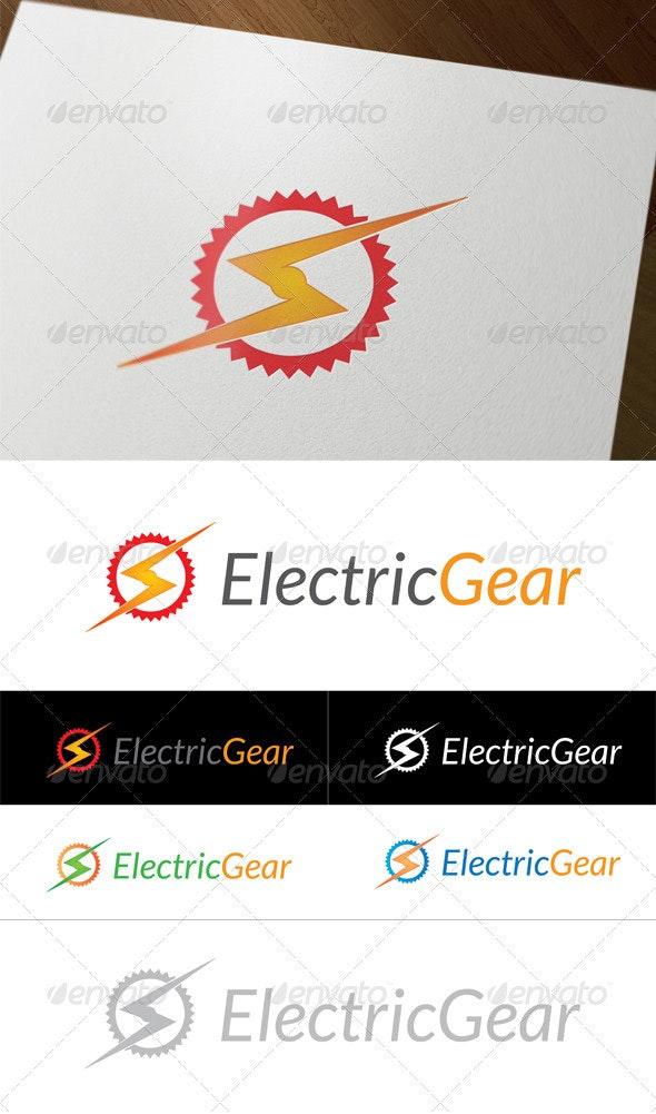 Electric Gear - Symbols Logo Templates