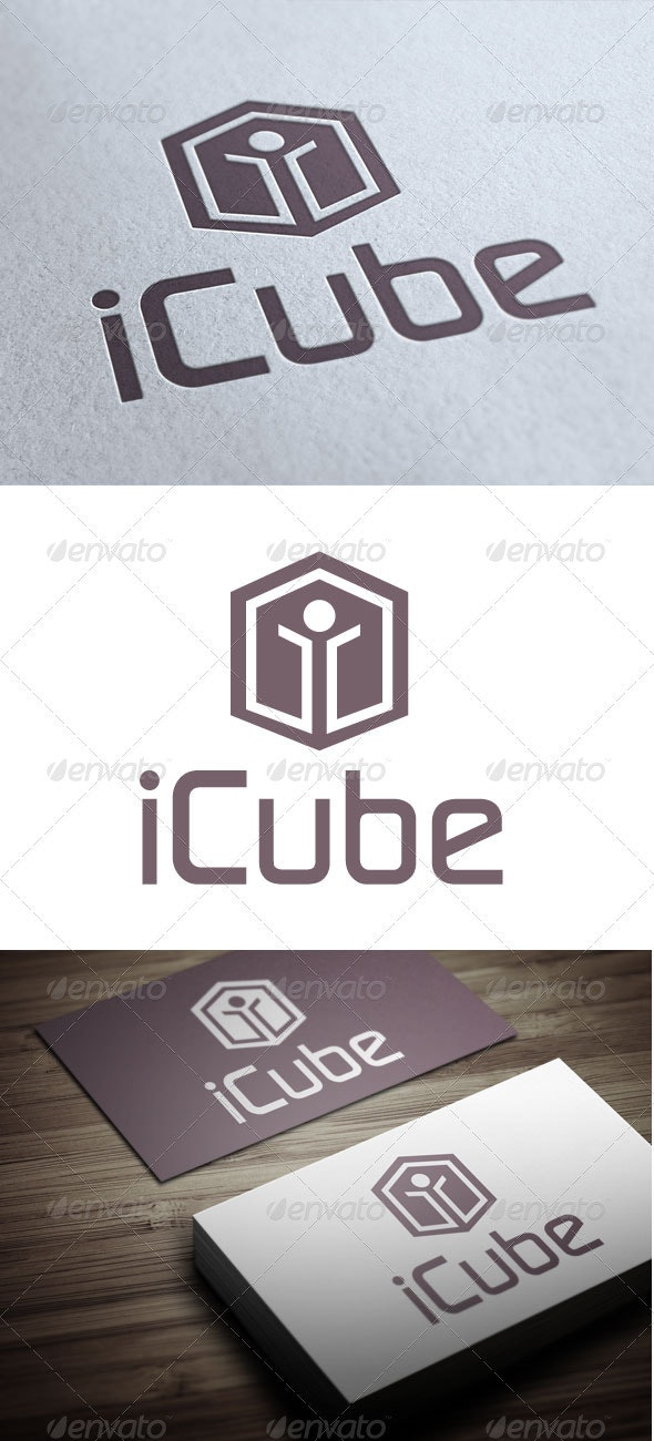 iCube - Abstract Logo Templates