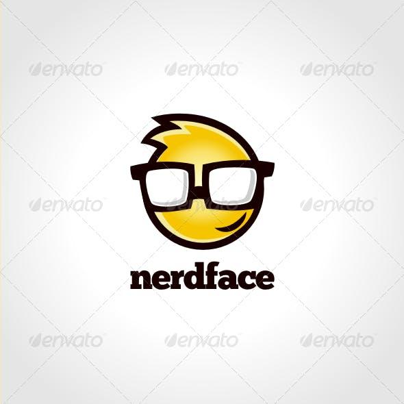NerdFace Logo Template