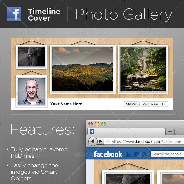 Hanging Photo Gallery FB Timeline Cover