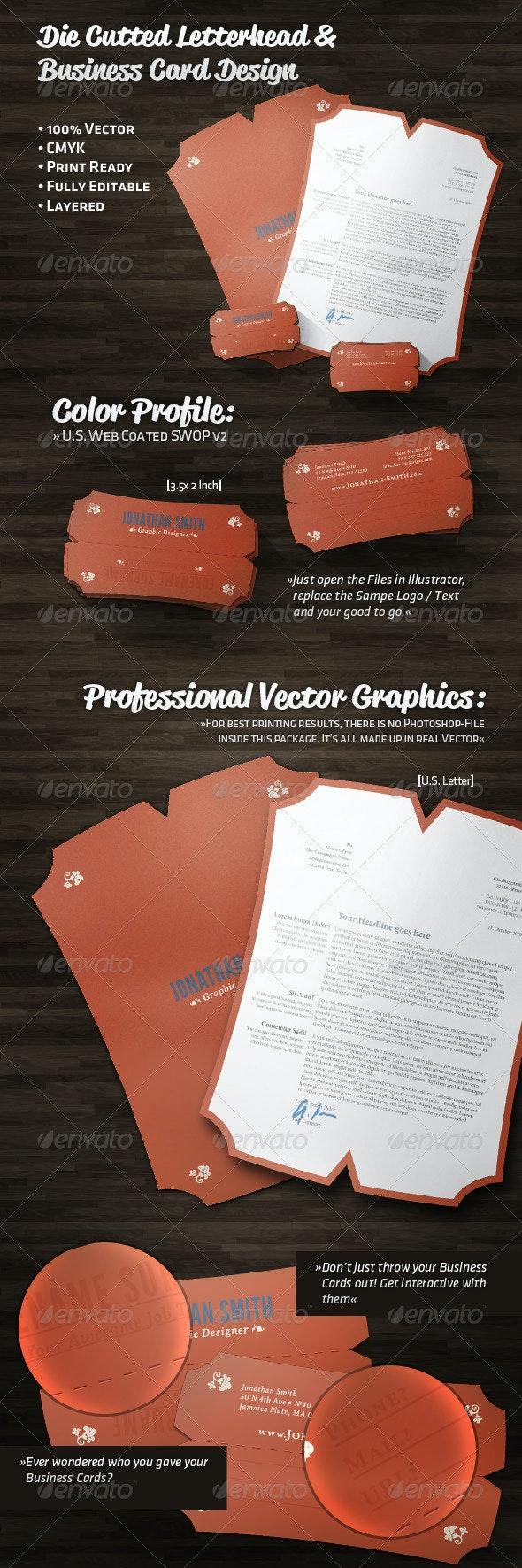 Unique Business Card and Letterhead Design - Corporate Business Cards