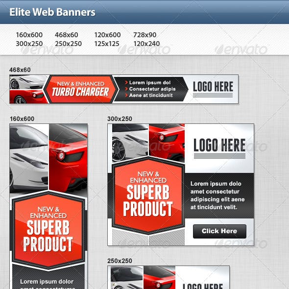 Elite Web Banners