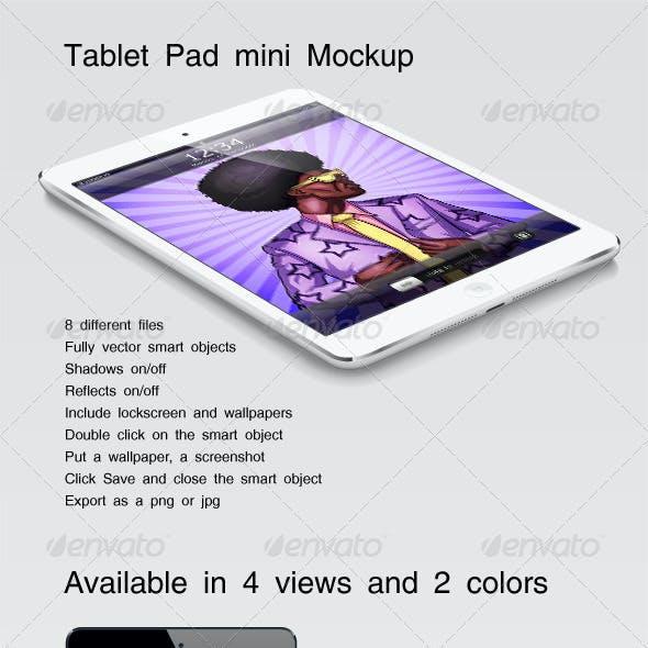Tablet Pad Mini Mockup