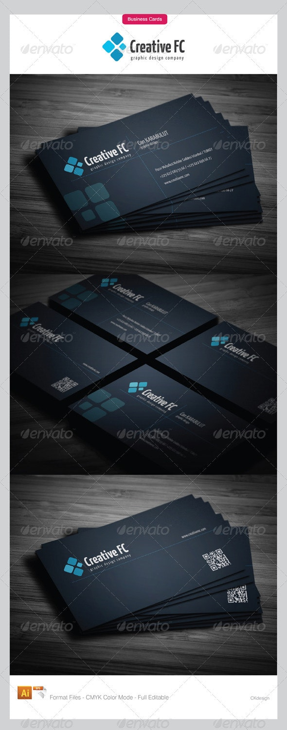 Corporate Business Cards 163 - Creative Business Cards
