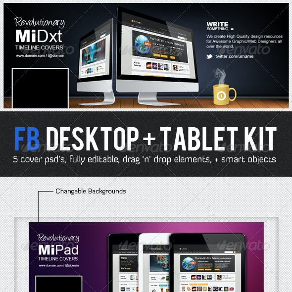 FB Desktop Tablet Kit