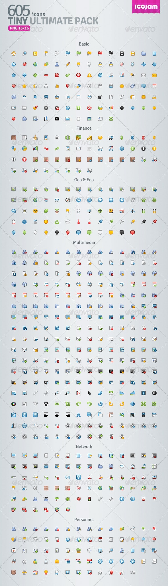 Tiny Ultimate Pack - Web Icons