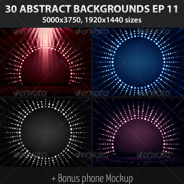 30 Abstract Backgrounds Episode 11