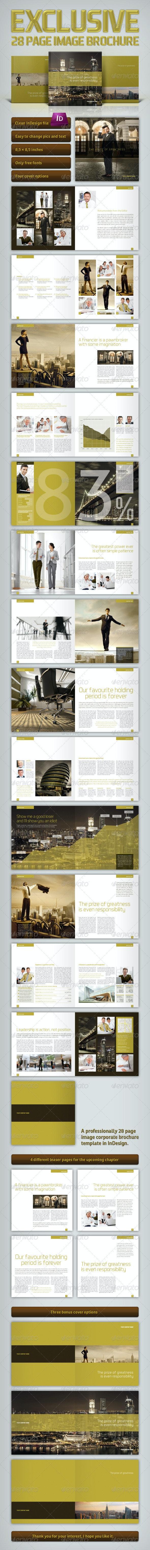 Exclusive Brochure - Corporate Brochures